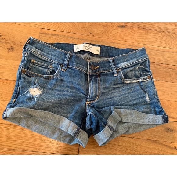 Abercrombie & Fitch Pants - A&F Denim shorts size 25